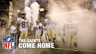 2006 Saints Surprise the Falcons in Reopening of Superdome Post Katrina | #ThrowbackThursday | NFL by NFL