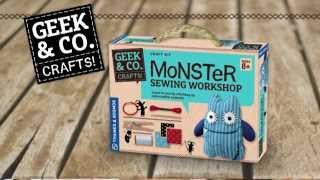 Monster Sewing Workshop Kit
