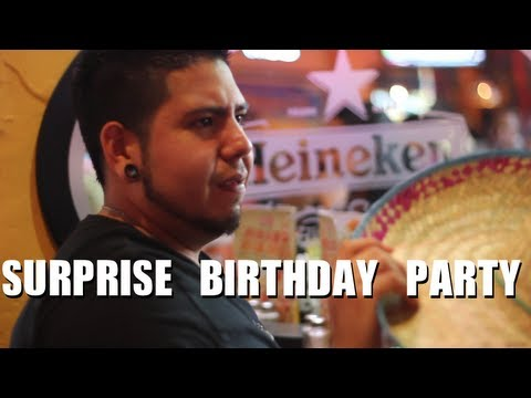 Public Prank – Surprise Birthday Party