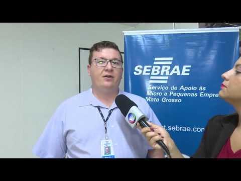 Reportagem produzida pela TV Record de Sorriso chamando para o evento de entrega dos estudos de análise econômica realizados pelo Sebrae por meio de contrato com a UHE Sinop