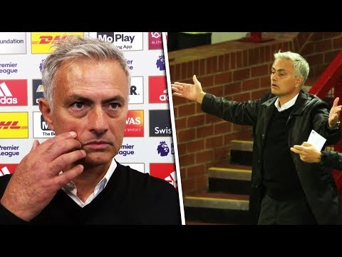 Jose Mourinho says team 'are still united' following 3-0 defeat to Spurs (видео)