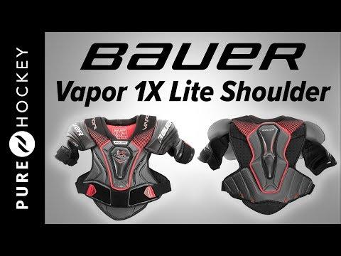 Bauer Vapor 1X Lite Hockey Shoulder Pads | Product Review