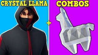 20 BEST COMBOS WITH CRYSTAL LLAMA! | HOW TO GET FREE CRYSTAL LLAMA! | EMERALD, RUBY & DIAMOND!