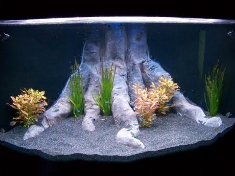 comment poser un poster d 39 aquarium la r ponse est sur. Black Bedroom Furniture Sets. Home Design Ideas