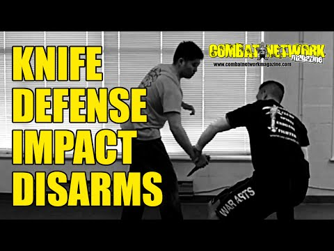 Knife Self-Defense | Pencak Silat Impact Disarms