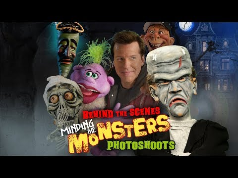 Behind the Scenes: Minding the Monsters' Photoshoots! | JEFF DUNHAM