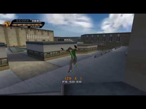 Tony Hawk's Underground Pro Gameplay