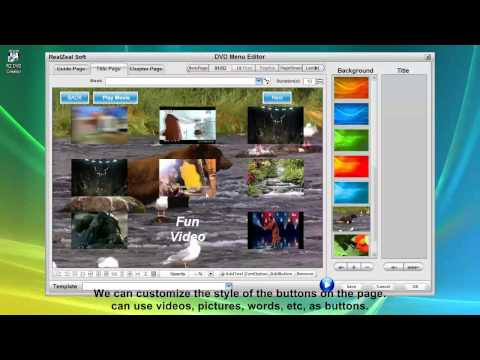 Create video DVD with cool DVD menu from any movies
