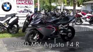 8. Pre-Owned 2010 MV Agusta F4 R Grey Walkaround at Euro Cycles of Tampa Bay