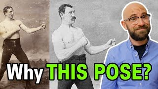 Why Did Old Timey Boxers All Pose for Photos With the Same Silly Stance?