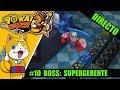 kai Watch 3 #10 | Boss: SUPERGERENTE... si consigo hacer la carrera del carrito
