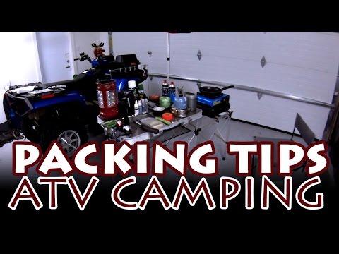 ATV Camping Trip Packing Tips - Newfoundland ATV Trip