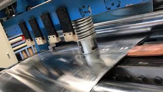 transformer foil winding machine youtube video