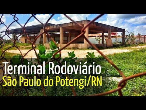 2014: Obra do Terminal Rodoviária de São Paulo do Potengi/RN