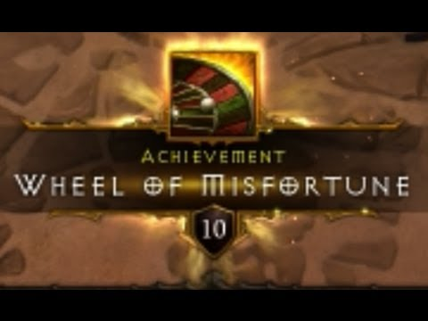 Diablo 3 Ancient Device - All 10 Possibilities! - Wheel of Misfortune Achievement [HD]