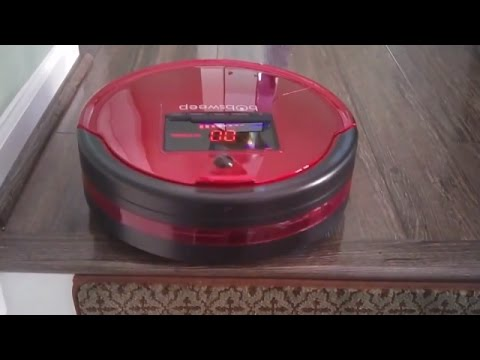 bObsweep PetHair Robotic Vacuum Review and Demo - Updated Model
