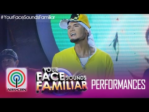 "Your Face Sounds Familiar: Jay R As Billy Crawford - ""bright Lights"""
