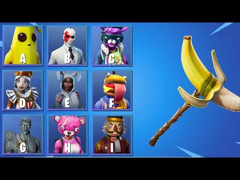 GUESS THE SKIN FOR HER PICKAXE | Ultimate Fortnite Quiz #3