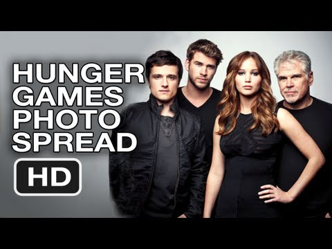 The Hunger Games NEW PHOTOS! Hollywood Reporter Photo Spread - HD Movie
