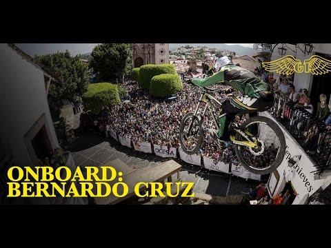 cruz - Go onboard with 2014 Taxco Urban Downhill winner, Bernardo Cruz (@BernardoCruzDH) as he sprints past living rooms and bedrooms of Taxco in his qualifying run. Join the conversation! Let us...