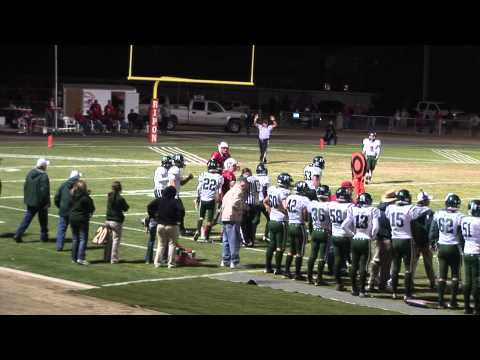 2012 Ripon Football Bradley Clark TD