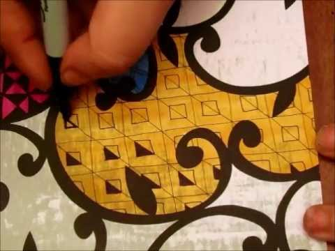 Tangling on Patterned Scrapbook Paper with Tiffany Lovering