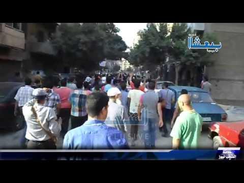 مسيرة حاشدة ضد الانقلاب تجوب شوارع عين شمس