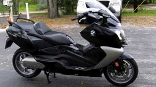 8. Pre-Owned 2013 BMW C650GT Scooter Black at Euro Cycles of Tampa Bay