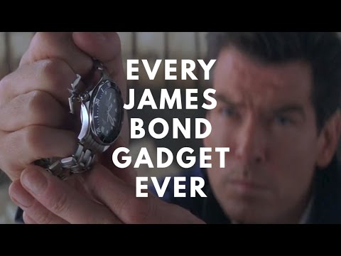 Every James Bond Gadget in One Video