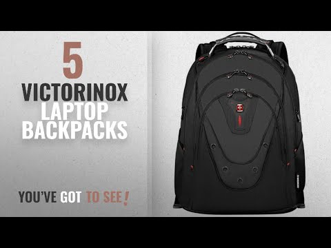 Victorinox Laptop Backpacks [2018]: SwissGear Ibex Backpack With 17