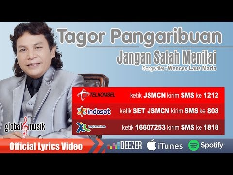 Tagor Pangaribuan - Jangan Salah Menilai (Official Lyric Video) Mp3
