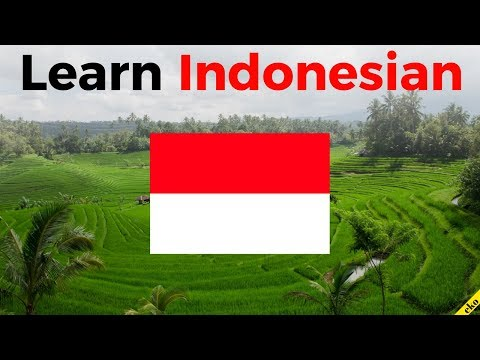 Learn Indonesian While You Sleep 😀  Most Important Indonesian Phrases And Words 😀 English/Indonesian