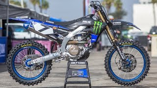 9. Inside Aaron Plessinger's Factory Yamaha YZ450F - Motocross Action Magazine