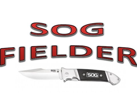 SOG Fielder Folding Knife Review / Overview - Budget EDC Knife