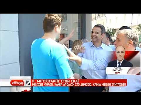 Το Μέτσοβο επισκέπτεται ο Κ. Μητσοτάκης | 16/06/2019 | ΕΡΤ