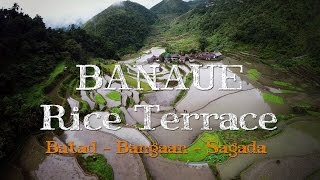 Banaue Philippines  city photos : Banaue, Batad & Bangaan Rice Terraces in Philippines from the air - Drone Video 2015