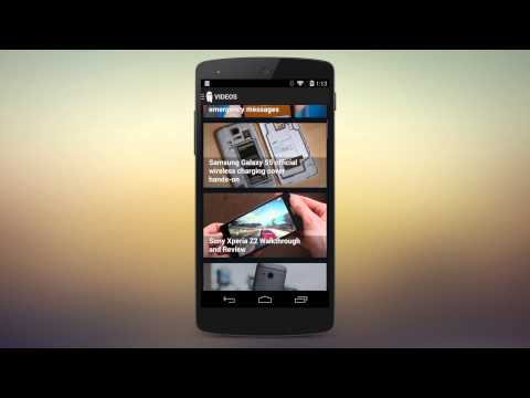 Video of Android Central - The App!