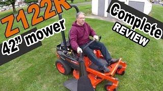 9. Kubota zero turn mower review - Z122R 42