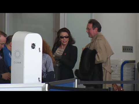 Dame Joan Collins And Hubby Get Out Of Town For The Holidays