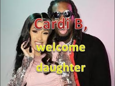 Cardi B, Offset welcome baby daughter Kulture Kiari Cephus