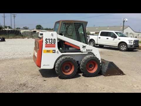 BOBCAT SKID STEER LOADERS S130 equipment video yGO743nl_p0