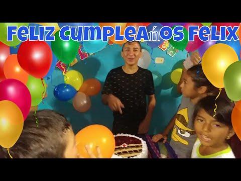 Feliz cumpleaños Felix Adolfo de Parte de todo El Salvador 4K. La Maltead para Nano.