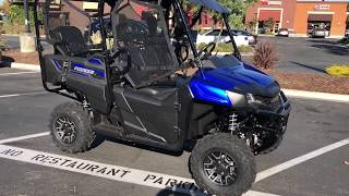 10. Contra Costa Powersports-New 2019 Honda Pioneer 700 Deluxe 4 seat side X side all terrain vehicle