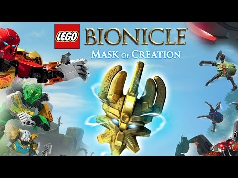 LEGO BIONICLE Mask Of Creation – FREE Game App (iPad, Android, iPhone)