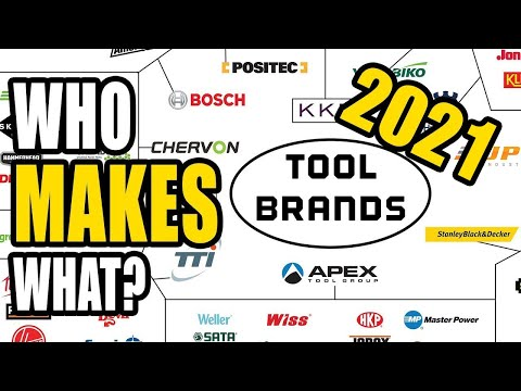 Power Tool Manufacturers and Who Really Owns Them in 2020