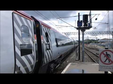 Pendolino at Carlisle