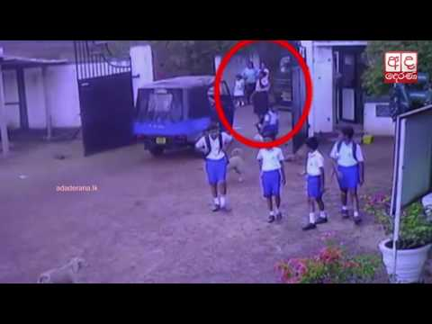 Van driver purposely hits female security24-02-2017