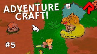 "We kill a giant Goblin Gorger, find a mysterious cloning device & build a teleporter in Let's Play Adventure Craft gameplay episode 5.► Subscribe: http://bit.ly/RandomiseUser► Patreon exclusives: https://www.patreon.com/randomiseuserThis Let's Play Adventure Craft gameplay series plays this early access game that mixes Don't Starve's gather-and-survive exploration with classic Zelda RPG tropes. Playlist: https://www.youtube.com/watch?v=Cx-obHvHiB4&index=1&list=PLLvo6-XrH1flRR4GxoLIqZqU5_RW3j6woIn this episode of Let's play Adventure Craft gameplay, we discover loads of new stuff as we go exploring new lands in our boar skin armour outfit.We head west from spawn, building a new base that turns out to be very close to a dangerous map square surrounded by tombstones and containing a giant goblin camp. The goblin camp contains a giant goblin boss mob spawner, and we form an uneasy alliance with the local giant warthogs as we fight and kill the giant Goblin Gorger boss.We also discover the uncovered entrance to some cave systems, but we're lacking a rope ladder. How do you make a rope ladder. Please tell me how.Also in Let's play Adventure Craft gameplay episode 5, we go running off in the dark and find mysterious cloning devices that can be destroyed for very bizarre raw materials, we meet angry raygun-wielding spacemen, we get chased by rotten zombies, we learn new recipes from the goblin giant, we build a teleporter only to discover a small drawback, and we return home with our many spoils!=====Thanks for watching this let's play Adventure Craft gameplay 2017 video! Watch more of the best indie games:Let's play RimWorld (alpha 17): https://www.youtube.com/watch?v=7jax1CqdSco&index=1&list=PLLvo6-XrH1fkoMmaQBXyN5KHCFq85RNmALet's play Oxygen Not Included (S2): https://www.youtube.com/watch?v=BWIkpht03U0&list=PLLvo6-XrH1fnBAHW2x5cHw2PKSZrpkzea&index=1Rain World is a survival platformer with brutal predators: https://www.youtube.com/watch?v=fQQZc9Afolk&index=1&list=PLLvo6-XrH1fmiwoAZLGIv0_jLTvc1jLRM=====Official Adventure Craft gameplay info:""Hunt monsters, horde loot, and craft weapons and armor to survive in a vast procedurally generated action RPG world full of extreme danger and wonderful surprises. Inspired by games like Don't Starve, Starbound and The Legend of Zelda, Adventure Craft combines the best elements of these games together with procedural game design!""Game version: Early Access v1.0Adventure Craft release date: 6 July 2017 (Early Access)Developed by: Edible EntertainmentFormats available: PC WindowsOfficial site: https://www.adventurecraftgame.com/Download on Steam: http://store.steampowered.com/app/624890/Adventure_Craft/=====Randomise User is the home of the best indie games:► Watch Let's Play one-offs for the best new games: https://www.youtube.com/playlist?list=PLLvo6-XrH1fnvqfQI4mhyXJu5Y7hcS5vC► Watch Alpha Soup for your first look at games: https://www.youtube.com/playlist?list=PLLvo6-XrH1flWq5KRBP8GhUqcGxJT5cPB► Watch Weird Indie for strange & funny gameplay: https://www.youtube.com/playlist?list=PLLvo6-XrH1fmiyuOquPzGzqUFasi7iy7x► Subscribe here: http://bit.ly/RandomiseUser► Live streams: https://www.youtube.com/c/randomiseuser/live► Support us on Patreon: https://www.patreon.com/randomiseuser► Follow us on Twitter: https://twitter.com/RandomiseUser"