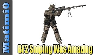 Sniping Was Amazing Back in Battlefield 2 - Flashback
