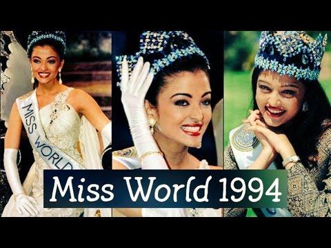 22 Years Of Aishwarya Rai Bachchan Winning Miss Wo